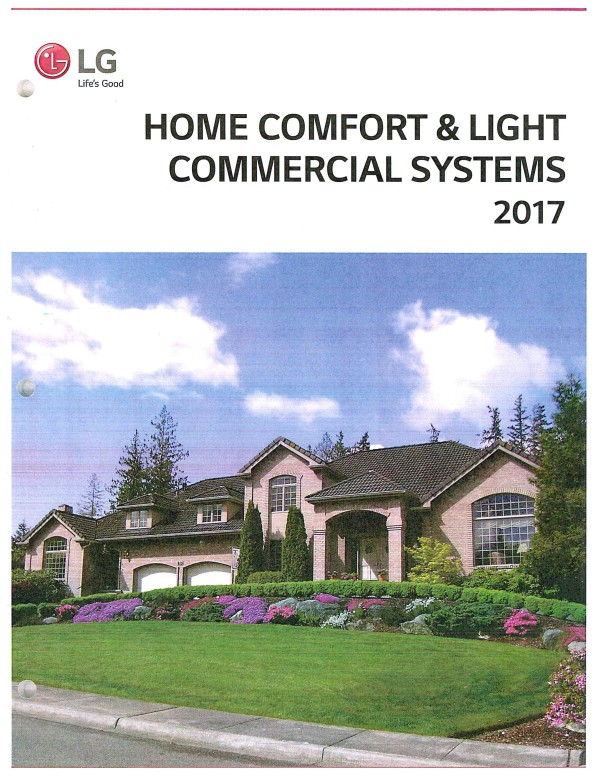Home Comfort & Light Commercial Systems 2017